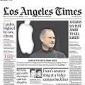 Auch die Los Angeles Time ist vom Hackangriff auf das Zeitungvertriebsnetz in den USA betroffen (Foto:LA Times)